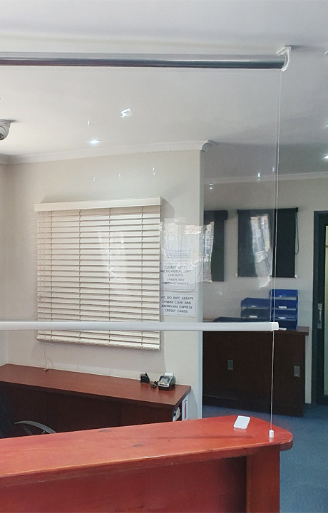 office blinds protection